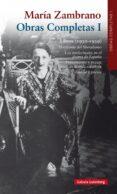 MARIA ZAMBRANO (OBRAS COMPLETAS I) (1930-1939) - 9788416252411 - MARIA ZAMBRANO