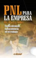 PNL PARA LA EMPRESA - 9788441410411 - HARRY ALDER
