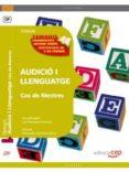 COS DE MESTRES. AUDICIO I LLENGUATGE. TEMARI - 9788468132211 - VV.AA.