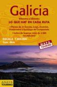 MAPA DE CARRETERAS GALICIA (DESPLEGABLE), ESCALA 1:340.000 (2ª ED .) 2018 (MAPA TOURING) - 9788491580911 - VV.AA.