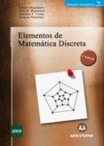 ELEMENTOS DE MATEMATICA DISCRETA (3ª ED.) - 9788496094611 - EMILIO BUJALANCE