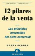 12 pilares de la venta (ebook)-barry a. farber-9788499442211
