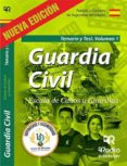 GUARDIA CIVIL. ESCALA DE CABOS Y GUARDIAS. TEMARIO Y TEST. VOL. 1 - 9788417661021 - VV.AA.