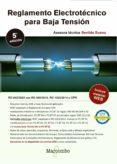 REGLAMENTO ELECTROTECNICO PARA BAJA TENSION (5ª ED) - 9788426726421 - BENILDE BUENO GONZALEZ