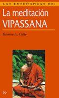 LAS ENSEÑANZAS DE LA MEDITACION VIPASSANA - 9788472453821 - RAMIRO CALLE
