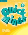 QUICK MINDS LEVEL 6 ACTIVITY BOOK SPANISH EDITION - 9788483235621 - VV.AA.