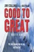 GOOD TO GREAT X5 CD - 9781856868631 - JIM COLLINS