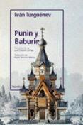 PUNIN Y BABURIN - 9788417281731 - IVAN S. TURGUENEV