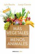 MAS VEGETALES, MENOS ANIMALES: UNA ALIMENTACION MAS SALUDABLE Y SOSTENIBLE - 9788466334631 - JULIO BASULTO