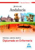 DIPLOMADO EN ENFERMERIA. PERSONAL LABORAL GRUPO II DE LA JUNTA DE ANDALUCIA. TEST DEL TEMARIO - 9788467622331 - VV.AA.