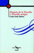 HISTORIA DE LA FILOSOFIA - 9788482396231 - CARLOS GOÑI ZUBIETA