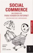SOCIAL COMMERCE - 9788494076831 - LEONARD PERA