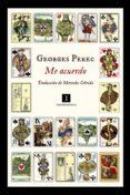 ME ACUERDO - 9788416542741 - GEORGES PEREC