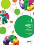VALORES ÉTICOS 1º ESO MEC - 9788467883541 - VV.AA.