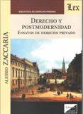 DERECHO Y POSTMODERNIDAD 2018 - 9789563920741 - ALESSIO ZACCARIA