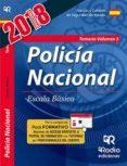 CUERPO NACIONAL DE POLICIA: ESCALA BASICA: TEMARIO (VOL. 3) (5ª ED.) - 9788417287351 - VV.AA.