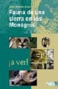 FAUNA DE UNA SIERRA EN MONEGROS - 9788483210451 - JORGE SERRANO BOLEA