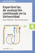 experiencias de evaluación continuada en la universidad-artur parcerisa aran-9788499216751