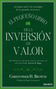 el pequeño libro de la inversión en valor (ebook)-christopher h. browne-9788423426461
