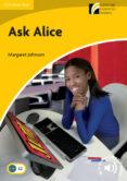 ASK ALICE LEVEL 2 ELEMENTARY/LOWER-INTERMEDIATE - 9788483236161 - VV.AA.