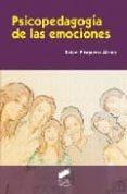 PSICOPEDAGOGIA DE LAS EMOCIONES - 9788497566261 - RAFAEL BISQUERRA ALZINA