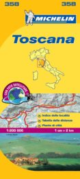 "TOSCANA (MAPAS ""LOCAL"" MICHELIN, REF. 358) - 9782067126671 - VV.AA."