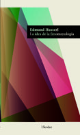 LA IDEA DE LA FENOMENOLOGIA - 9788425428371 - EDMUND HUSSERL