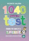 1040 PREGUNTAS TIPO TEST TREBEP - 9788430976171 - VICENTE VALERA