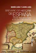 breviario de historia de españa (ebook)-maria lara martinez-laura lara martinez-9788441438781