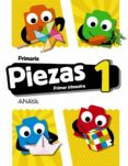 PIEZAS 1º EDUCACION PRIMARIA PRIMER TRIMESTRE SERIE PIEZA A PIEZA CAST ED 2018 - 9788469840481 - VV.AA.
