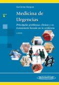 MEDICINA DE URGENCIAS (2ª EDICION) PRINCIPALES PROBLEMAS CLÍNICOS Y SU TRATAMIENTO BASADO EN LA - 9786078546091 - ISAURO RAMON GUTIERREZ VAZQUEZ