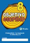 OBJETIVO ESCRIBIR 8 - 9788421665091 - VV.AA.