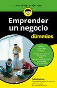 EMPRENDER UN NEGOCIO PARA DUMMIES - 9788432903991 - COLIN BARROW