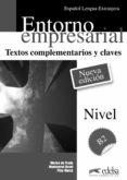 ENTORNO EMPRESARIAL - TEXTOS COMPLEMENTARIOS Y CLAVES - 9788477113591 - MARISA DE PRADA