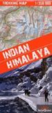 himalaya indio, mapa de trekking plastificado: escala: 1:350.000-9788361155201