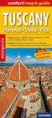 toscana, mapa-guia de carreteras plastificado: escala: 1:600.000-9788375462661