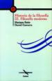 filosofia moderna: historia de la filosofia-9788482396071