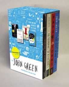 the john green paperback collection: looking for alaska / an abundance of katherines / paper towns / the fault in our stars-john green-9780147515001