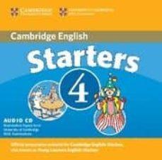 Descargar CAMBRIDGE YOUNG LEARNERS ENGLISH TEST STARTERS 4 : AUDIO CD gratis pdf - leer online