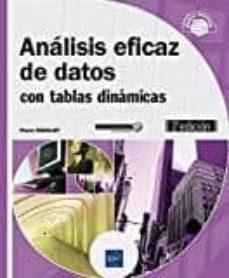 Descargar ANALISIS EFICAZ DE DATOS: CON TABLAS DINAMICAS gratis pdf - leer online
