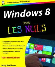 windows 8 pour les nuls (ebook)-andy rathbone-9782754046701
