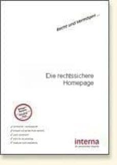 die rechtssichere homepage (ebook)-christina klein-9783940931801