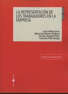 Valentifaineros20015.es La Representacion De Los Trabajadores En La Empresa (4ª Ed.) Image