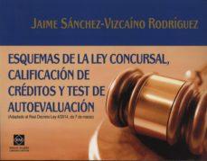 Relaismarechiaro.it Esquemas De Derecho Concursal Califica De Creditos Y Test De Eval Uacion Image