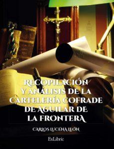 Permacultivo.es Recopilacion Y Analisis De La Carteleria Cofrade De Aguilar De La Frontera Image