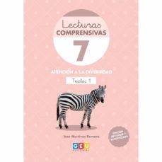 Treninodellesaline.it Lecturas Comprensivas 7 3ªed Atencion A La Diversida Leo Textos Image