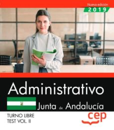 Joomla descargar ebooks gratis ADMINISTRATIVO (TURNO LIBRE). JUNTA DE ANDALUCÍA. TEST VOL. II