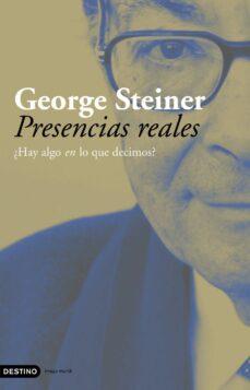 presencias reales-george steiner-9788423339501
