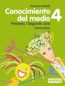 Alienazioneparentale.it Conocimiento Del Medio 4 Educacion Primaria Guia Didactica Brujula (Extremadura) Cd Image