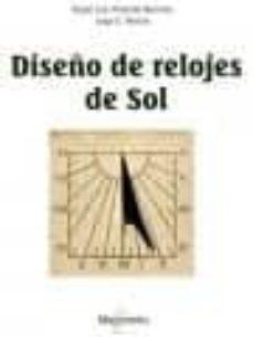 diseño de relojes de sol-9788426722201